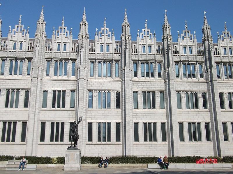 Marischal College in Aberdeen