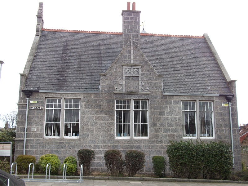 Ferryhill Library from the outside